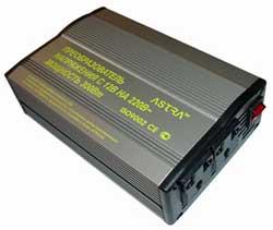 Мощный преобразователь питания от автомобильно аккумулятора (с 12VDC на 220VAC)