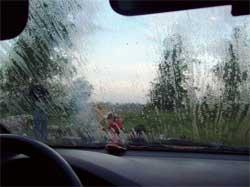 Что делать, если в автомобиле запотело стекло