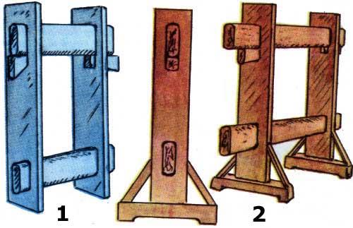 Наклонный и вертикальный станки