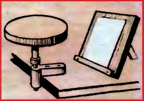 Турнетка и подставка для росписи фарфора