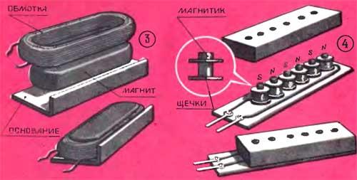 Как сделать звукосниматель для электрогитары своими руками