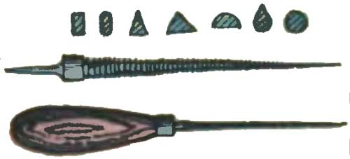 Втиральник - инструмент для ручной обработки проемов в ажурной резьбе