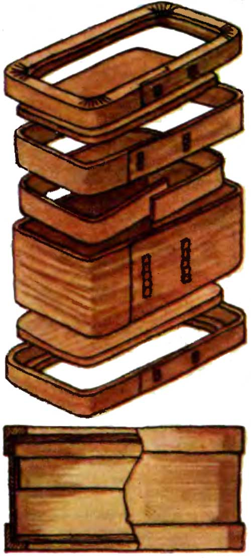 Коробейки для хлеба