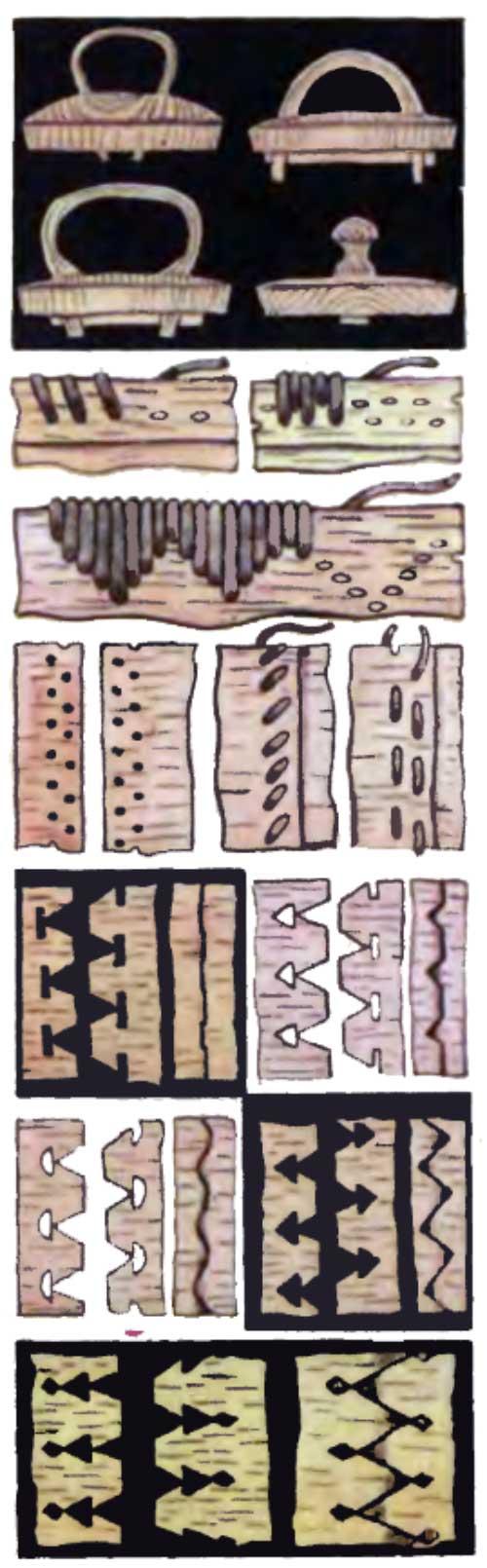 Берестяные туески
