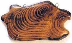 Украшения из древесных спилов своими руками