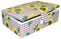 Коробка, обтянутая тканью