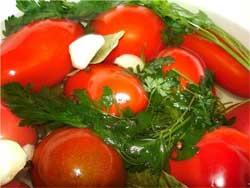 Сухое консервирование помидоров