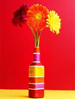 Как сделать вазу своими руками