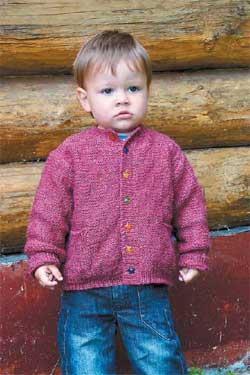 Жакет для мальчика двух лет