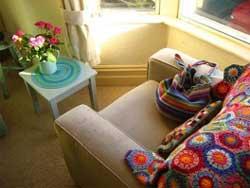 Вязаный декор для домашнего интерьера