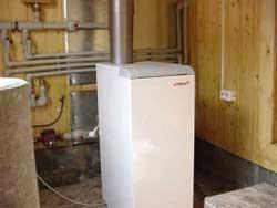 Газовое отопление загородного дома – энергоэффективные технологии