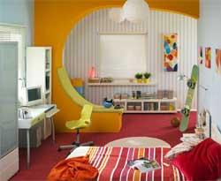 Шесть способов украсить детскую комнату