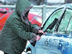 Как защитить машину зимой