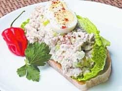 Салат с тунцом по-городницки