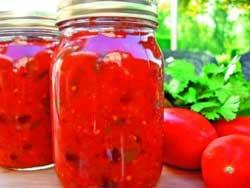 Паста томатная острая