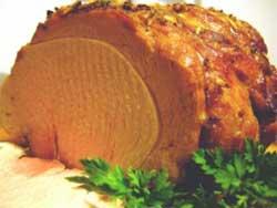 Свинина, запеченная под горчицей