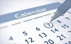 """Календарь """"Цветок"""""""