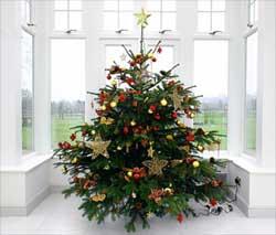Удобный складной крест для новогодней елки