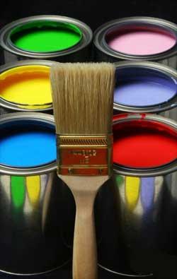 Эмульсионная окраска