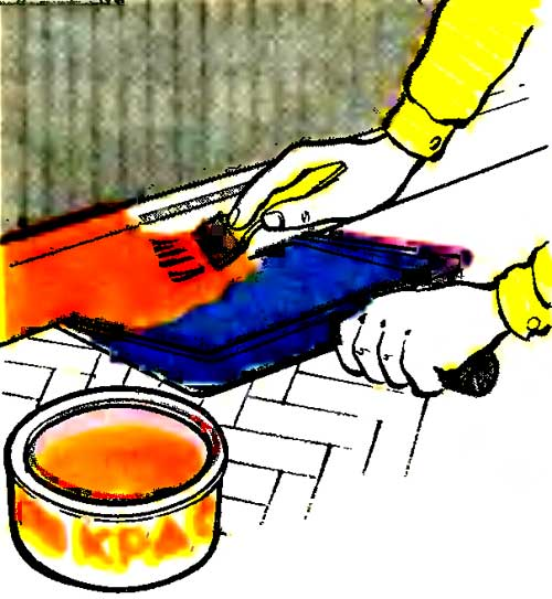Покраска плинтусов без ущерба для пола