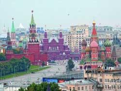 Москва: Куда пойти и где остановиться