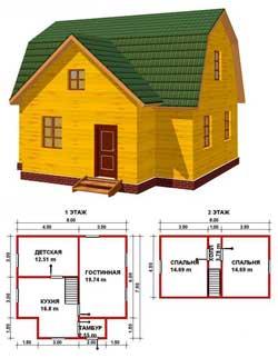 Выбор проекта дачного дома - советы