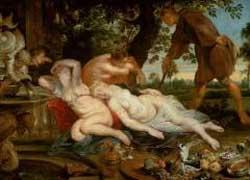 Картина Рубенса «Ифигения и Кимон». История любви или пародия?