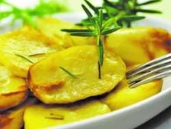 Картофель, запеченный с лавром