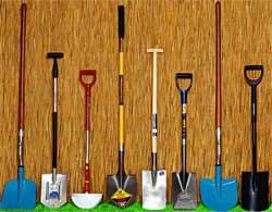 Виды лопат для огородника