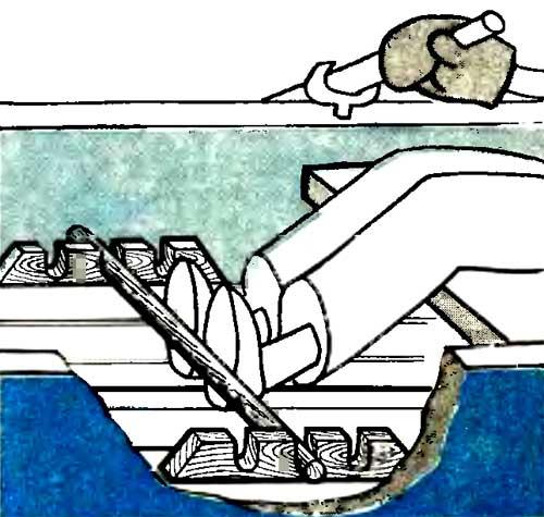 Грести веслами станет удобнее