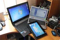 Синхронизация файлов между персональным компьютером и ноутбуком