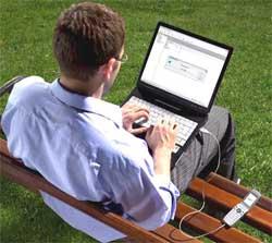 В Интернет c ноутбука через мобильник