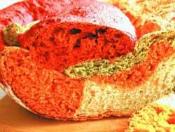Овощной хлеб на минералке