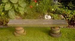 Делаем простую садовую скамейку