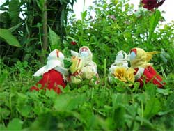 Текстильные народные обрядово-обережные куклы