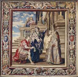 Шпалера Рубенса «Святая Елена и истинный крест»