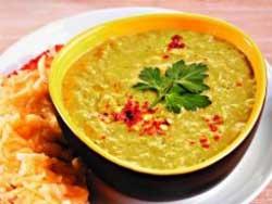 Суп из брокколи с пармезаном и креветками