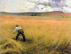 Как Бастьен-Лепаж передал в своих картинах любовь к деревне
