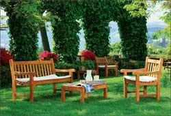 Садовая гостинная