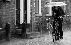 Защита велосипедиста от от дождя