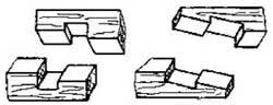 Способы соединений деталей из дерева