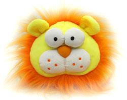 Игрушки-сувениры: лев, козлик, котенок