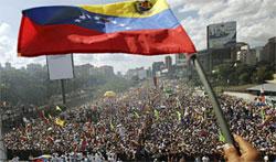 Россия обеспокоена беспорядками в Венесуэле