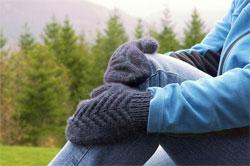 Вяжем рукавички
