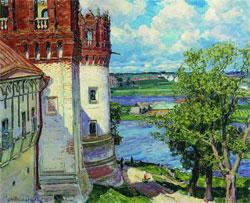 Новодевичий монастырь. Башни. 1926.