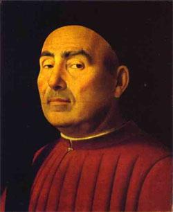 Антонелло да Мессина. «Портрет Тривульцио»