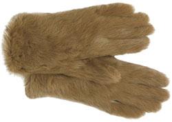 Перчатки из меха