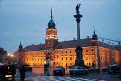 Королевский замок в Варшаве (Польша)